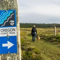 The shore trail is part of the Oregon Coast Trail system- Cape Blanco Shore Trail
