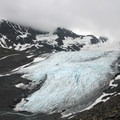 Raven Glacier.- Crow Pass Trail Thru-Hike