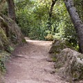 The High Peaks Trail en route to Tourist Trap from the Bear Gulch Day Use Area.- Tourist Trap