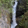 Bonanza Creek Falls along the Root Glacier Trail.- Root Glacier Trail