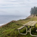 A day use area in Cape Blanco State Park.- Cape Blanco State Park
