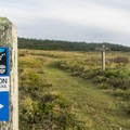 The Oregon Coast Trail runs through Cape Blanco State Park.- Cape Blanco State Park