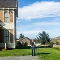 Historic Hughes House.- Cape Blanco State Park