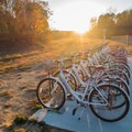 Zagster bike rental.- Noonday Creek Trail
