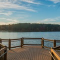 Excellent pier for watching the birds.- Murphy Candler Park