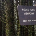 Entrance to House Rock viewpoint.- House Rock Viewpoint