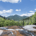 Indian Falls sits at 3,600 ft.- Mount Marcy via the Van Hoevenberg Trail