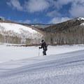 Snowshoeing around Willow Lake.- Willow Heights Snowshoe