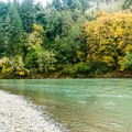 The Chetco River flows right by the campground.- Alfred Loeb State Park Campground