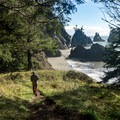 Secret Beach.- Thunder Rock Cove to Spruce Island Hike