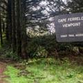 Entrance to Cape Ferrelo.- Cape Ferrelo Hike