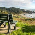 A tempting place to sit and admire the view.- Cape Ferrelo Hike