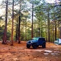 Conventional and dispersed camping is available all around Woods Canyon Lake.- Woods Canyon Lake