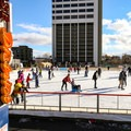 Reno's ice rink.- Downtown Reno Ice Rink