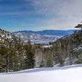 A view over Washoe Lake.- Tahoe Meadows: Ophir Creek