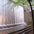 Paley Park, New York City.- Paley Park