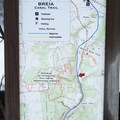 Frequent trail maps mark your progress.- Canal Trail
