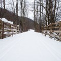One of many bridges on the southern end of the trail.- Canal Trail