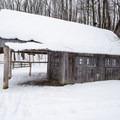 The warming hut.- Egypt Road Ski Trails