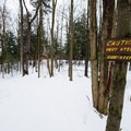 An extra warning that the gully trails are exceptionally steep.- Egypt Road Ski Trails
