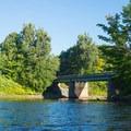 The Glenfield Bridge.- Black River: Lyons Falls to Beeches Landing