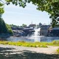 Lyons Falls.- Black River: Lyons Falls to Beeches Landing