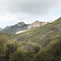 Sandstone Peak at a distance.- Sandstone Peak, Circle X Ranch