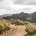 Wonderful views of the Santa Monica Mountains.- Sandstone Peak, Circle X Ranch