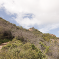 Ascending to Sandstone Peak.- Sandstone Peak, Circle X Ranch