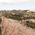 View from the highest point.- Sandstone Peak, Circle X Ranch