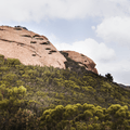 Interesting rock formations.- Sandstone Peak, Circle X Ranch