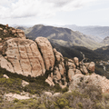 Inspiring views of the Santa Monica Mountains from Inspiration Point. - Sandstone Peak, Circle X Ranch