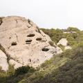 Find your inner geologist.- Sandstone Peak, Circle X Ranch