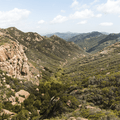 The Echo Cliffs (Mishe Mokwa Trail).- Sandstone Peak, Circle X Ranch