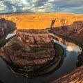 Horseshoe Bend on the Colorado River.- Horseshoe Bend