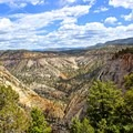 Overlook of the East Canyon.- East Rim Trail to Cable Mountain