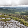 Getting higher.- Mount Mansfield via Sunset Ridge Trail