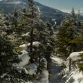 View from summit of Esther Mountain.- Whiteface Mountain + Esther Mountain Snowshoe