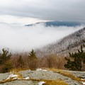 View from Marble Mountain.- Whiteface Mountain + Esther Mountain Snowshoe