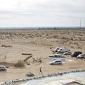 View from the top of Salvation Mountain. - Salvation Mountain