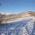 Snowshoeing the Little Mountain Trail.- Little Mountain Snowshoe