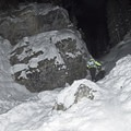 There are some steep sections, and poles really help with the ascent.- Donut Falls Snowshoe
