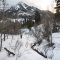 Reynolds Creek and Kessler Peak.- Reynolds Gulch Snowshoe