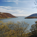 Looking south at the Hudson River.- Anthony's Nose