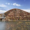 Bear Mountain bridge and summit.- Anthony's Nose