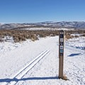 Trails are well marked throughout.- Round Valley Trails, Quinn's Trailhead