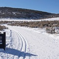 The Land of Oz, nordic skiing without the dogs getting in the way.- Round Valley Trails, Quinn's Trailhead