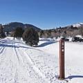 Woody Lane Trailhead.- North Basin Trails, Woods Trailhead