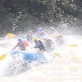 Rafting through the Lower Keeney (Class IV).- Lower New River Gorge: Cunard to Fayette Station