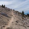 Above the tree line.- San Gorgonio via Momyer Creek Trail + Vivian Creek Trail